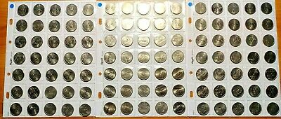 "Dollari (25 cents) - 227 monete serie ""50 States"" e ""Beautiful Quarters"""
