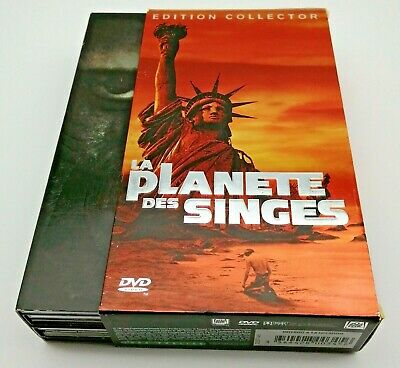 La Planete Des Singes Edition Collector Numerotee Coffret 6 Dvd Complet