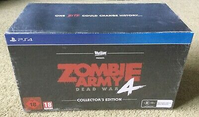 BNIB Zombie Army 4 Dead War PS4 Collectors Edition sealed with model shark 🦈