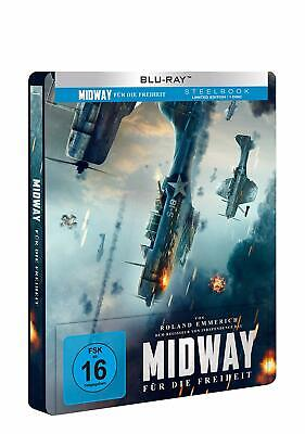 Midway Collectors Edition Steelbook Blu Ray /Import/Pre-Order/WORLDWIDE SHIPPING