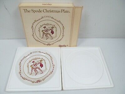 1980 The Spode Porcelain Christmas Eleventh Plate Boxed