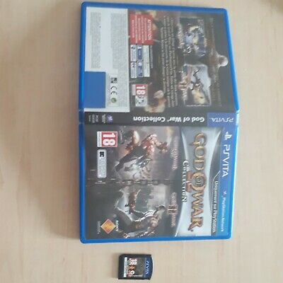 Jeu PS Vita God Of War Collection playstation