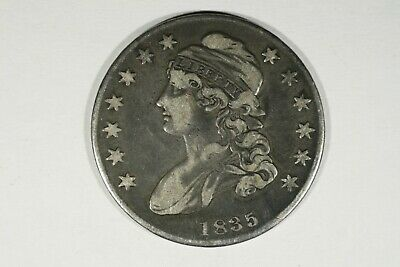 1835 Capped Bust Half, VF