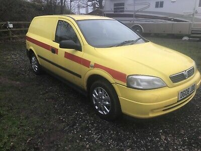 2006 VAUXHALL ASTRA ASTRAVAN ENVOY VAN CDTI 1.7 originally council. FEB 2021 MOT