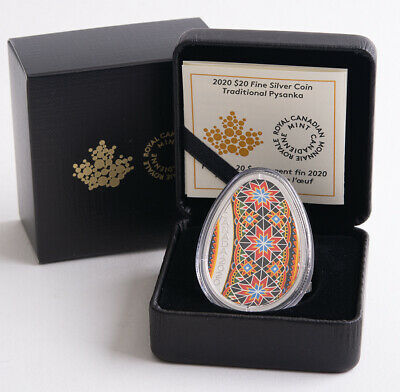 Kanada 20 Dollar 2020 - Pysanka - egg shaped*