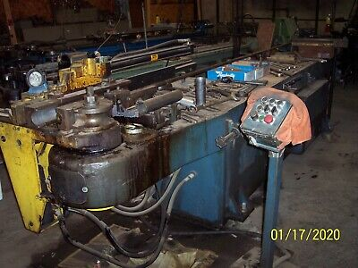 Pines #2 Mandrel Tube Bender, CCW, Loaded with Tooling, Spares, Acc's, Extra's!!