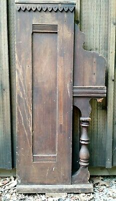 Antique Piano Side Furniture Architectural Interest Wall Sculpture Art
