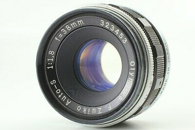 [Exc+3]  Olympus F.Zuiko Auto S 38mm f/1.8 Manual Focus Lens for PEN From Japan