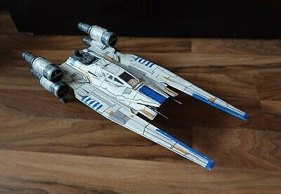 Star Wars Rogue One Vehicle U-Wing Fighter Ship CUSTOM WEATHERED  - 3.75 figures