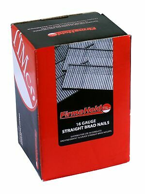 TIMCO BSS1650G Firmahold Straight Brad 16 x 50 - Stainless Steel (Box of 2000)