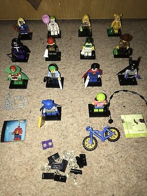 Lego Collectable Minifigures. Series 19 & DC Super Heroes X14