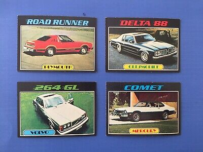Topps Autos Of 1977 - Lot of 4 different.