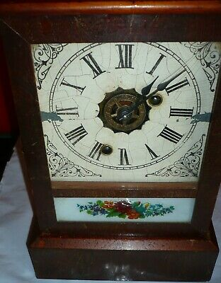 Old Ansonia Alarm Clock, working, maybe restore or use as is.