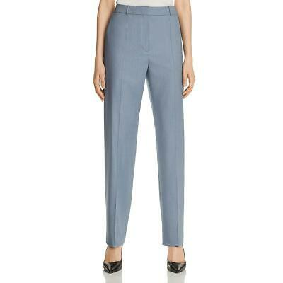 BOSS Hugo Boss Womens Wool High Rise Straight Leg Pants Trousers BHFO 8591