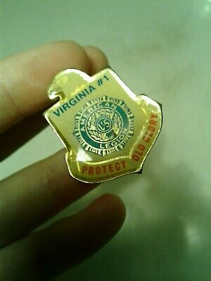 Vintage American Legion lapel protect Old Glory