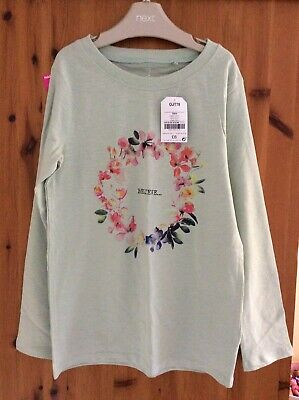 BNWT Girls Next Long Sleeved Top Age 10 Years