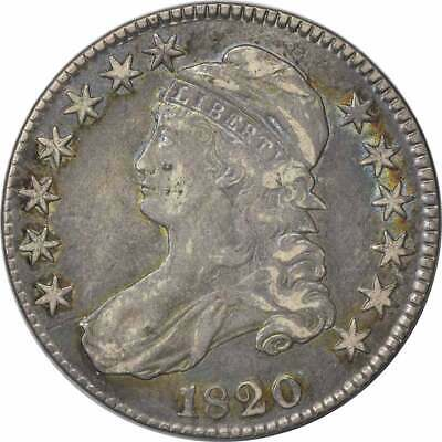 1820 Bust Half Dollar, VF, Uncertified