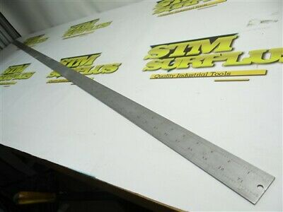 "Nice Starrett Precision 72"" Rule Tempered No. C416R"
