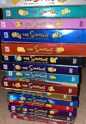 Simpsons Collection DVD LOT Seasons (1-16)