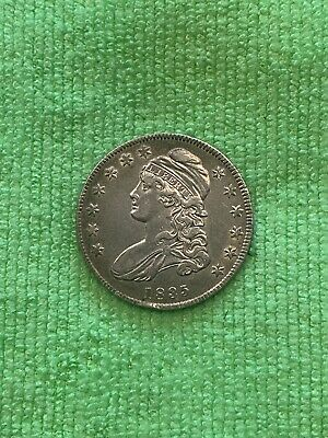 1835 Bust Half Dollar Beautiful Coin