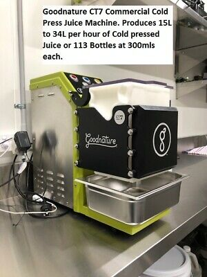 Goodnature CT7 Commercial Cold Press Juice Machine