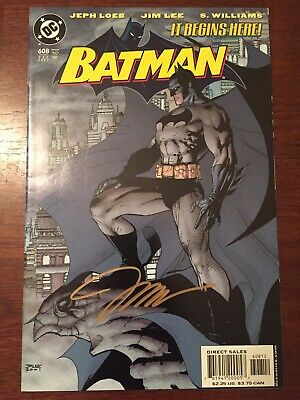 Batman issue #608 2nd Print SIGNED BY JIM LEE 🔥🔥🔥