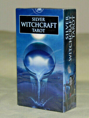 Silver Witchcraft Tarot Cards Deck - Wiccan Pagan Metaphysical **NEW & SEALED**