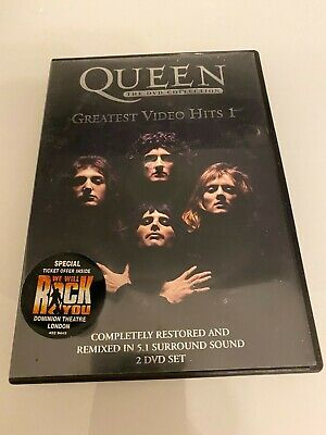 Queen Greatest Video Hits Volume 1 DVD FAST DISPATCH UK