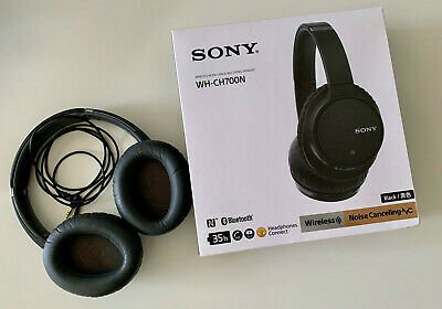 Sony WH-CH700N Bluetooth Wireless Noise Cancelling Headphones - Black