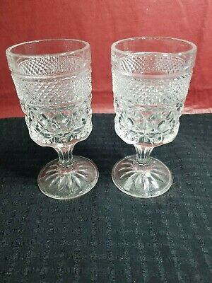 Set of 2 Claret Wine Goblets - Wexford by Anchor Hocking