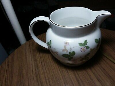 Wedgwood Pitcher - Wild Strawberry - 4 1/2 Inches