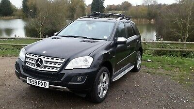 Mercedes Ml300 Blue Efficiency Sport Cdi 2009 Salvage Unrecorded  Hpi Clear