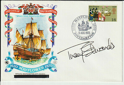 "Tracy Edwards Mbe - Signed - ""Mayflower"" Envelope"