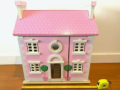 Le Toy Van Bay Tree Wooden House Dollhouse With Furniture In Images Pre-Loved