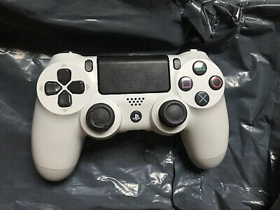 Sony White Dualshock 4 - V2 Wireless Gamepad Controller for PlayStation 4