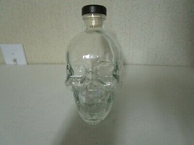 Decorative Crystal Head Human SKULL Made Of Glass