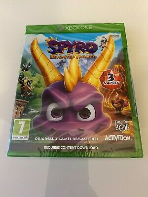 Spyro Reignited Trilogy Xbox One Game BRAND NEW AND SEALED FAST DISPATCH PAL
