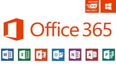 Office 365 ProPlus 2016/2019 instant Delivery 5TB | 5 devices
