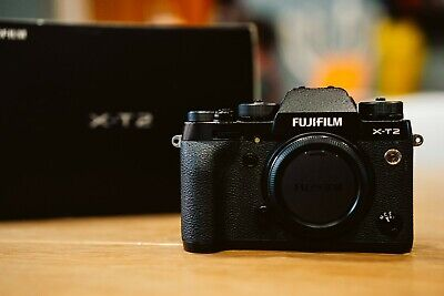 Fujifilm X series X-T2 Digital Camera, black (Body Only). Boxed with charger