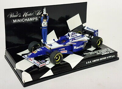 DIE CAST 1:43 Damon Hill Modellino WILLIAMS RENAULT FW 18 1996 Modellino F1