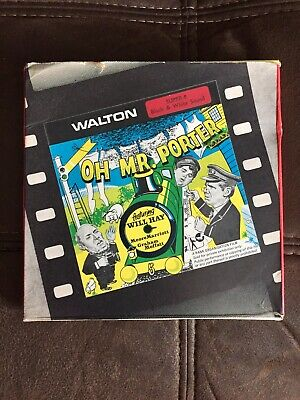 Super 8 Film Movie Reel - OH MR PORTER - Starring Will Hay