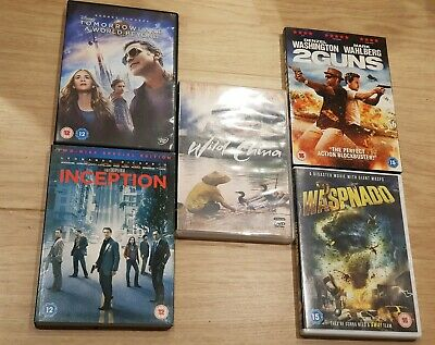 Bundle of 5 DVDS - ONLY 99P!