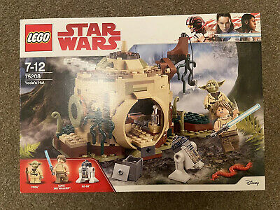 Lego Star Wars - Yoda's Hut - 75208 - Complete Boxed Set with Instructions