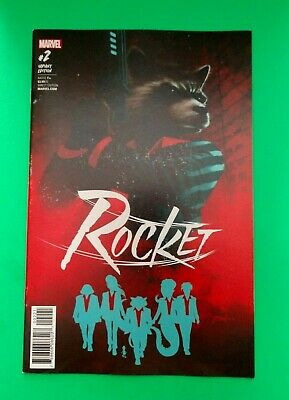 Rocket #2  Variant Cover  Comic Conspiracy Buck-A-Book Auction