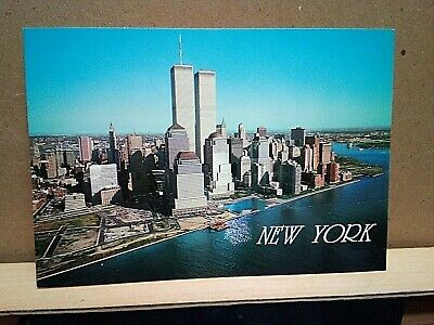 NEW YORK CITY Manhattan TWIN TOWERS Aziz Rahman ALFRED MAINZER printed Italy
