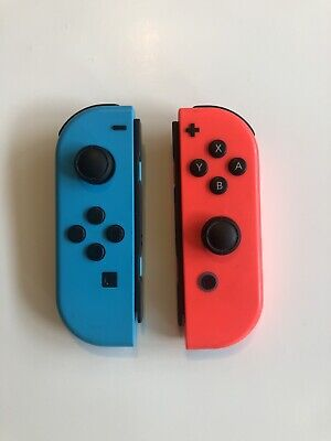 Nintendo Switch Joy-Con Controllers - Neon Red/Neon Blue