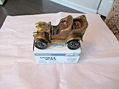 1970'S  BANTHRICO 1906 OLDSMOBILE CAR  COIN BANK With Box