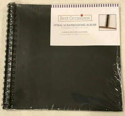 Brand New Scrapbooking Albums - Three (2 large and one smaller spiral bound)