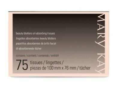 MARY KAY Beauty Blotters Oil-Absorbing Tissues pk. / 75 tissues