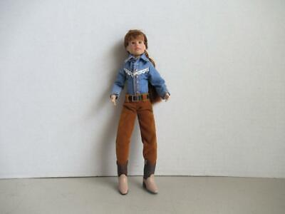 """VINTAGE BREYER  COWGIRL DOLL  9"""" TALL Jointed Action Figure"""